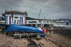 SEA FOLK (frattonparker) Tags: afsnikkor28300mmf3556gedvr btonner lightroom6 nikond810 raw solent frattonparker houseboats ropes rowingboat usingupalltheexcesspainttins seaside seafront