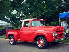 Happy Truck Thursday (novice09) Tags: htt truckthursday truck pickup ford f100 1960 whitewalls ipiccy