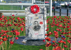 London Southend Airport (Keith B Pics) Tags: 19182018 remembrance worldwarone 19141918 111118 lestweforget poppies keithbpics londonsouthendairport stobart essex southendairport sen egmc neverforget