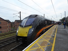 180105 at Northallerton (2/1/19) (*ECMLexpress*) Tags: grand central class 180 adelante dmu 180105 northallerton ecml