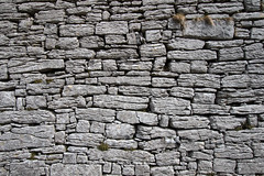 Old stone wall (backpackphotography) Tags: church clare ruin ruins 15thcentury backpackphotography carving ireland wall stones stone stonewall old