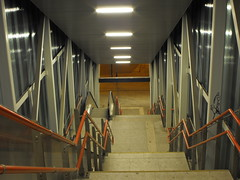 DSCF2480 (agnieszka.lublin) Tags: stairs stairway street city lights
