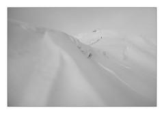 bergkamm (summer.christof) Tags: karneralm salzburg lungau österreich austria snow schnee black white schwarz weis berge mountains nebel fog wolken