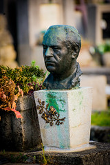 severed head in cemetery (Sam Scholes) Tags: mirogojcemetery graves zagreb travel landmark graveyard vacation europe cemetery croatia cityofzagreb hr