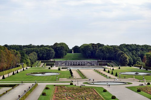 Vista del jardín de Vaux-le-Vicomte (Maincy)