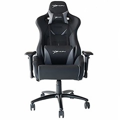 E-WIN Big and Tall 450lb Gaming Chair – Adjustable Tilt, Back Angle and 4D Armrests Ergonomic High-Back Leather Racing Executive Computer Desk Office Chair Metal Base, Black/Grey Review (airpurifierus1) Tags: ifttt wordpress