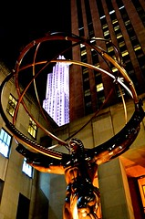 Rockefeller Center (explored) (pjpink) Tags: rockefellercenter night nyc newyork newyorkcity ny city november 2018 fall pjpink 2catswithcameras
