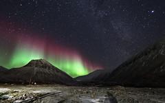 M2194477 E-M1ii 7mm iso1600 f2.8 30s 0 (Mel Stephens) Tags: 20181019 201810 2018 q4 16x10 8x5 wide widescreen olympus mzuiko mft microfourthirds m43 714mm pro omd em1ii ii mirrorless gps night nighttime stars sky landscape aurora borealis nothern lights nybyen svalbard spitsbergen spitzbergen scape