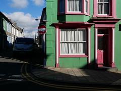 Aberystwyth - Bridge Street (Dubris) Tags: wales cymru ceredigion aberystwyth green red