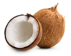 How to Open a Coconut and What is a Tomatillo? (keenreadyCOM) Tags: break brown circle coco coconut cut diet drink eatable eating exotic food fresh fruit half hard healthy ingredient isolated milk nut nutrition object oil open palm raw round shell square sweet tropical vegetarian vivid white whole