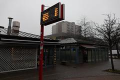 line 12 (Rasande Tyskar) Tags: hamburg mümmelmannsberg hochhaus hochhäuser siedlung suburb station underground ubahn tower blocks concrete beton bus bushaltestelle