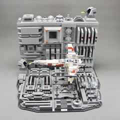 LEGO Star Wars Trench Run