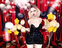 Happy New Year ♥♥♥ (ღ ღ[[J E SSIE ]] ღ ღ) Tags: catwa maitreya misschelsea mossu noticemesenpai secondlife sl second life blog post new years party photography taketomiwest