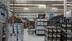 Sporting Goods Jut-Out (Retail Retell) Tags: oxford ms walmart supercenter remodel black décor 21 lafayette county retail formerly project impact