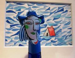 Picasso Parfum (hussi48) Tags: picasso parfum closeup macro blau rotalskontrast perfume smileonsaturday