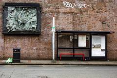 Bus Stop Balham (London Less Travelled) Tags: uk unitedkingdom britain england london southlondon city urban street suburb suburbs suburban suburbia wandsworth balham bus busstop art mural sculpture