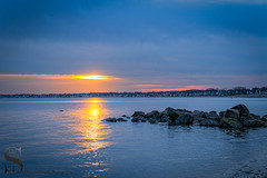 1 Sun Thursday-1-3 (Singing With Light) Tags: 2016 2017 21st alpha6500 ct duckpond february gulfbeach milford mirrorless singingwithlight a6500 beach downtown photography singingwithlightphotography sony sunrise winter