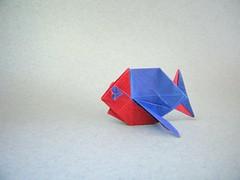 Pescadito  - Fernando Gilgado (Rui.Roda) Tags: origami papiroflexia papierfalten fish poisson peixe pez pescadito fernando gilgado