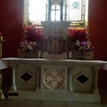 Tumut.  The marble altar in the Tumut Catholic church created by marble sculpturer Rusconi of Gundagai. thumbnail