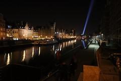 Goodnight Gdańsk ! (phileveratt) Tags: gdańsk poland motławariver searchlight canon eos77d efs18135