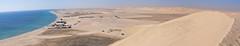Khor Al Adaid, Qatar (fisherbray) Tags: fisherbray qatar stateofqatar دولةقطر dawlatqatar alwakrah بلديةالوكرة baladīyatalwakrah khoraladaid khoraludeid khawraludayd خورالعديد inlandsea naturereserve unesco nikon d5000 qatarinternationaladventures qia desert sanddunes singingdunes persiangulf arabiangulf water wasser panorama