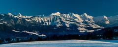 Panorama hivernal sur les préalpes gruyériennes (Switzerland) (christian.rey) Tags: dents brenleires folliéran vanilnoir pointedeparay vanilcarré pointedecray préalpesfribourgoises gruyériennes gruyère fribourg swiss switzerland panorama sony alpha a7r2 a7rii 24105 montagnes paysage hiver winter landscape