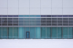 Closed (CoolMcFlash) Tags: architecture minimalistic minimalism minimalistisch negativespace copyspace canon eos 60d architektur building geometry geometrie facade front vienna simple gebäude fassade wien einfach simplicity fotografie photography