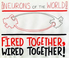 Neurons Of The World, Unite (Daniel Ari Friedman) Tags: art drawing draw red black danielarifriedman daniel friedman science philosophy paper pen ink creative artistic geometry topology mathematics cartoon freehand freedraw craft