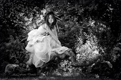Fairy of the woods (Daniela Franz) Tags: fatadeiboschi fairy woman donna modella agane
