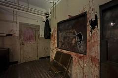 Butcher's Shop (2) (ShapesIndustries.com) Tags: hauntedbasement spooky halloween underground fear evil sets scenes stages displays exhibit attraction experience theater dark