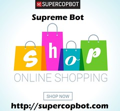 Supreme Bot Offers (Super Cop Bot) Tags: shopping online shop bag store gift purchase sale internet app buy offer fashion flat buying delivery supermarket price market business website discount style marketing mall special