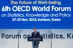 The_6th_OECD_World_Forum_02 (KOREA.NET - Official page of the Republic of Korea) Tags: oecd 6thoecdworldforum 제6차oecd세계포럼 angelgurría kangshinwook kimdongyeon inchon songdo songdoconvensia