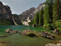 The Lake Prags in South Tyrol (Ostseetroll) Tags: geo:lat=4669871550 geo:lon=1208681201 geotagged ita italien prags pragserwildsee südtirol southtyrol altoadige alpen alps lakeprags lakebraies lagodibraies olympus em5markii