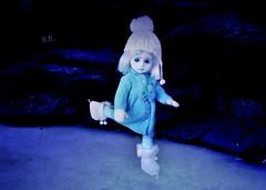 Little Ice Princess (pianocats16) Tags: frozen charlotte resurrection doll living dead dolls ice skaters dance winter imagination