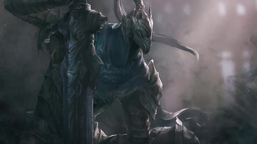 Dark Souls Great Grey Wolf Sif Live Wallpaper A Photo On