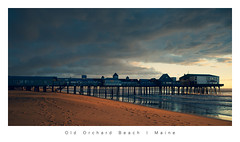 Old Orchard Beach Pier (shara.marquis) Tags: oldorchardbeach maine ocean sunrise beach clouds
