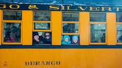 Durango (65 of 65) (stevenroundrock) Tags: durango silverton train snow mountains colorado narrowguage steamengine mountainsnow