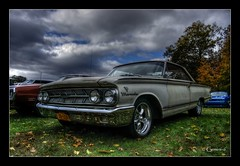 Daily Driver (* Gemini-6 *) Tags: carshow automobile vehicle transportation sky clouds trees nature autumn hdr mercury chrome patina