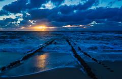 Blue Sunset (**capture the essential**) Tags: 2018 clouds fotoshooting himmel insel island meer ocean sea see september sky sonnenuntergang sonya7miii sonya7mark3 sonya7m3 sonya7iii sonyfe1635mmf4zaoss sonyilce7m3 sunset sylt wolken