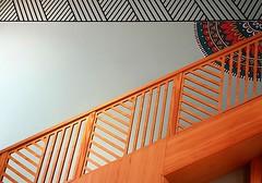 Escalera Geométrica (chuma23m) Tags: escalera tenerife canarias españa geometrico interior