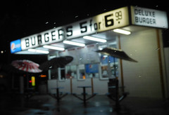 Burgers (earthdog) Tags: 2017 nikoncoolpixs7000 nikon coolpix s7000 outcarwindow outwindow sanjose walkingdistance sign burgerstand word number text restaurant