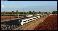 Regional y AVE en Sevilla (javier-lopez) Tags: ffcc railway train tren trenes adif renfe viajeros pasajeros regional md mediadistancia ave lav altavelocidad 449 102 sevilla jaén madrid 10092018