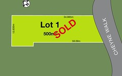 Lot 1, 1 Cheyne Walk, West Pennant Hills NSW