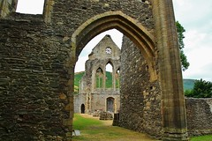 Valle Crucis Abbey Ruins (Eddie Crutchley) Tags: europe uk wales outdoor abbey historicbuilding ruins vallecrucisabbey simplysuperb greatphotographers