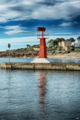 Far de L'Estany (candi...) Tags: faro mar agua cielo nubes airelibre arboles playa sonya77 puerto lestany lametlla