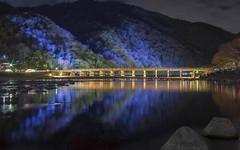Arashiyama (Andrew Allan Jpn) Tags: lights illumination travel japan kyoto arashiyama autumcolour k3 pentaxart pentaxk3 da35
