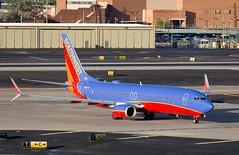 B737   N8633A   PHX   20181013 (Wally.H) Tags: boeing 737 boeing737 b737 n8633a southwestairlines phx kphx phoenix skyharbor airport