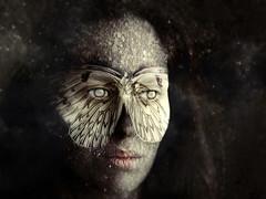 "VI De la serie ""Transmutación manifiesta"" (barbara bezina) Tags: photomanipulation photoshop art artistic barbarabezina portrait"