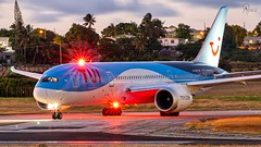 TUI | G-TUIF | Boeing 787-8 | BGI (Terris Scott Photography) Tags: aircraft airplane aviation plane spotting nikon d750 f28 travel barbados jet jetliner tui fly 7878 long exposure tamron 70200mm di vc usd g2