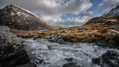 let it flow ... (Einir Wyn Leigh) Tags: landscape rugged sky water river wilderness nature winter weather snow beauty wales uk snowdonia home love nikon sigma outside